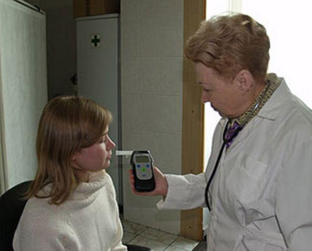 Фото медицинского освидетельствования